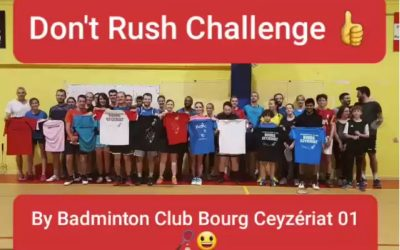 Video : le Don't rush challenge » du club